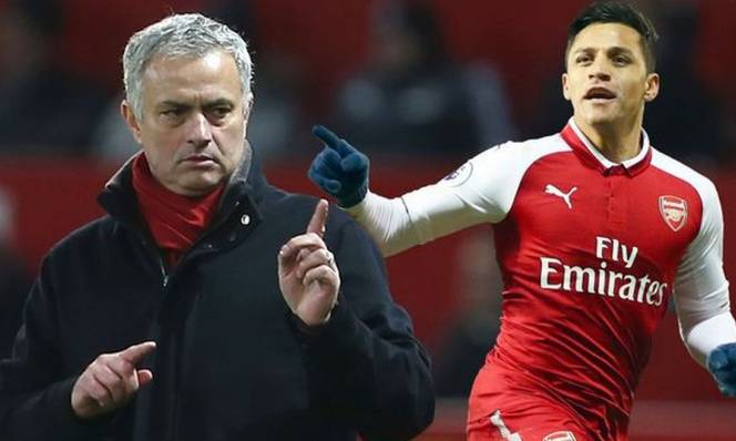 Alexis Sanchez mặc áo số mấy tại Man United?