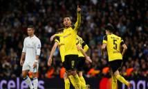 Đánh rơi chiến thắng, Real mất ngôi đầu vào tay Dortmund