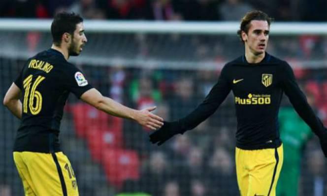 Atletico hạ Espanyol trong ngày Griezmann đi vào lịch sử
