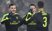 Tân binh lập hat-trick, Arsenal vùi dập Basel