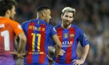 NÓNG: Messi và Neymar hoàn toàn có thể ngồi ngoài nếu Barca vào chung kết C1