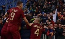 Đánh bại Lazio, Roma tiếp tục bám đuổi Juve