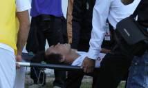 Hậu vệ HAGL nhập viện trong tình trạng bất tỉnh