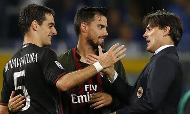 Milan không còn mong manh nhờ...Montella