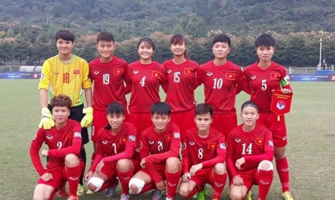 """Tuyển U19 nữ  Việt Nam tiếp tục """"thảm bại"""" trước nữ U19 Hàn Quốc"""