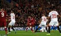 Liverpool 2-2 Sevilla: Thảm họa thẻ đỏ, hỏng phạt đền