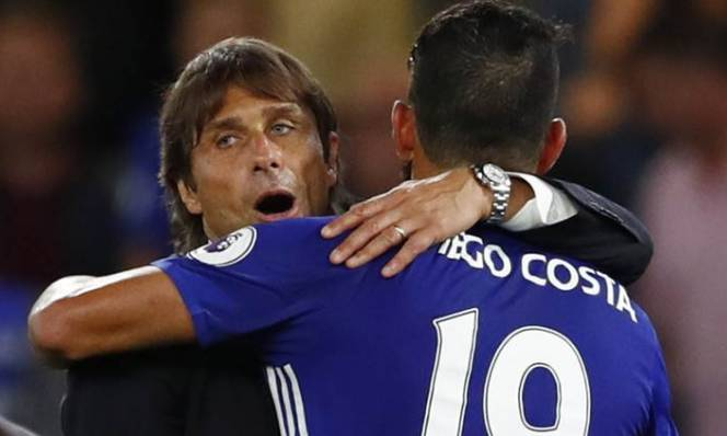 Dẹp bỏ bất đồng, Conte bất ngờ gửi lời cảm ơn Diego Costa