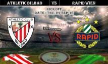 Athletic Bilbao vs Rapid Wien, 02h05 ngày 30/09: Điểm số đầu tiên