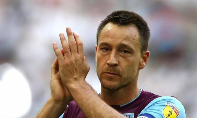 Không thể trở lại Premier League, John Terry ngậm ngùi chia tay Aston Villa