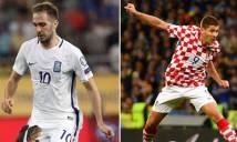 Nhận định Hy Lạp vs Croatia 02h45, 13/11 (Lượt về PLAY OFF - World Cup 2018)