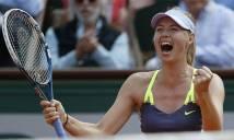 Búp bê Nga Sharapova sở hữu khối tài sản lớn nhất làng banh nỉ nữ thế giới