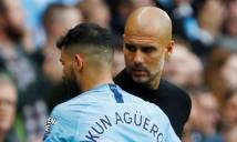 Man City nhận tin vui từ Aguero, tin dữ từ Mendy