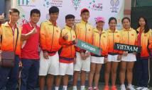 Tuyển trẻ Việt Nam dừng bước ở bán kết cả Fed Cup và Junior Davis Cup