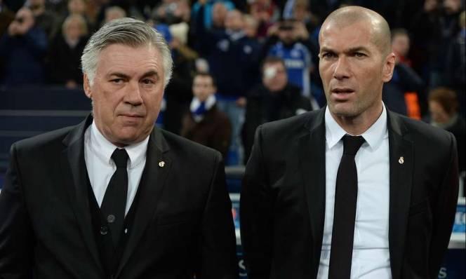 SỐC: Real Madrid có thể chiêu mộ Ancelotti để thay thế Zidane