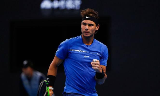 Nadal cứu hai match-point, thắng nhọc ngày ra quân ở Bắc Kinh