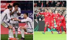 Chỉ còn 4 đội bất bại tại 5 giải đấu hàng đầu châu Âu