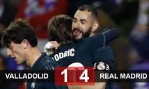 Valladolid 1-4 Real Madrid: Benzema lập cú đúp, Real ngược dòng giành 3 điểm