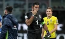 Cả đất nước Italy đau đớn tột cùng trước cảnh tượng Buffon bật khóc trên sóng truyền hình quốc gia