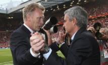 Thống kê: Mourinho hóa 'Moyes 2.0' sau 9 vòng đấu