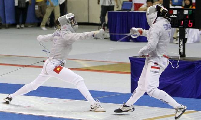 Đấu kiếm Việt Nam và áp lực giành vé dự Olympic 2016