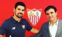 Nolito chia tay Man City, ký hợp đồng 3 năm với Sevilla