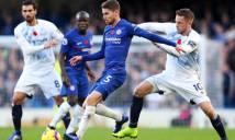 'Chìa khóa' Jorginho bị lỗi, Chelsea lần đầu tịt ngòi ở Stamford Bridge