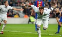 Ramos sắm vai người hùng, giúp Real thoát hiểm phút chót ở Nou Camp