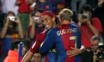 Ronaldinho và Gudjohnsen có thể sẽ tái ngộ tại Chapecoense