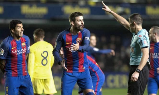 Barca đã bị trọng tài trù dập một cách hệ thống?