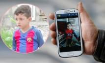 Cậu bé 3 tuổi bị IS bắt cóc vì...tên là Messi