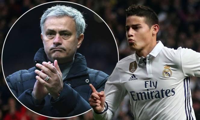 Phát ngán với Real, James Rodriguez liên hệ với 'siêu cò' để sang MU