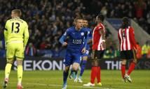 Vardy nổ súng, Leicester thắng trận thứ 6 liên tiếp