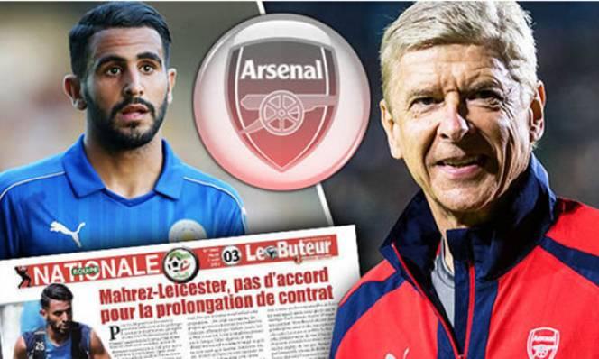 HOT: Mahrez đồng ý tới Arsenal