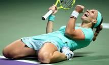 Ngược dòng ấn tượng trước Pliskova, Kuznetsova giành tấm vé đầu tiên vào bán kết WTA Finals 2016