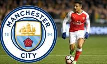 NÓNG: Man City sắp hoàn tất thương vụ chiêu mộ Alexis Sanchez với giá