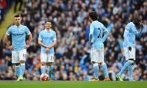 Man City rơi vào khủng hoảng: Lỗi không của riêng hàng thủ