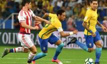 Neymar và các đồng đội chính thức giành vé đến VCK World Cup 2018