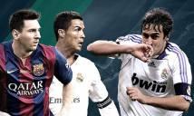 10 chân sút vĩ đại nhất Champions League: Messi 'ngửi khói' Ronaldo