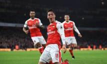 Ngược dòng hạ Stoke City, Arsenal tạm chiếm ngôi đầu của Chelsea