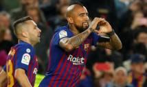 Vidal đã 'khai hỏa' cho Barca