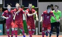 Futsal Việt Nam xuất sắc cầm hòa chủ nhà ở giải tứ hùng Trung Quốc