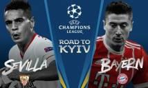 SOI SỐ BÀN THẮNG Sevilla vs Bayern, 1h45 ngày 4/4/2018 (Champions League 2017-18)