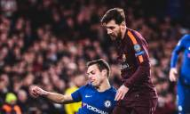 Kết quả Chelsea - Barcelona: Messi phá bỏ lời nguyền