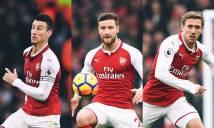 Có bộ ba này, Arsenal không bao giờ thua