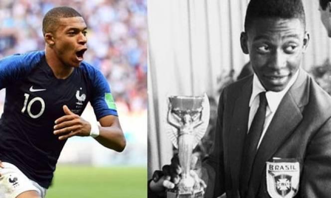 Vua Pele cũng 'ghen' với tài năng của Mbappe