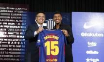 CHÍNH THỨC: Paulinho ra mắt Barca, chọn xong số áo