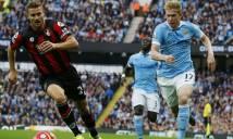 Link sopcast/xem TRỰC TIẾP Man City vs Bournemouth, 22h ngày 23/12, vòng 19 Ngoại hạng Anh