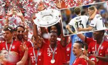Bóng đá Đức năm 2016: Bayern che cả bầu trời