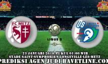 Metz vs Creteil, 02h00 ngày 23/01:  Dìm khách xuống đáy