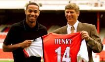 NGÀY NÀY NĂM XƯA: Henry gia nhập Arsenal, Lyon thành lập